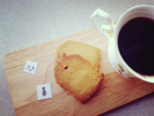 Tea Bag Butter Cookies