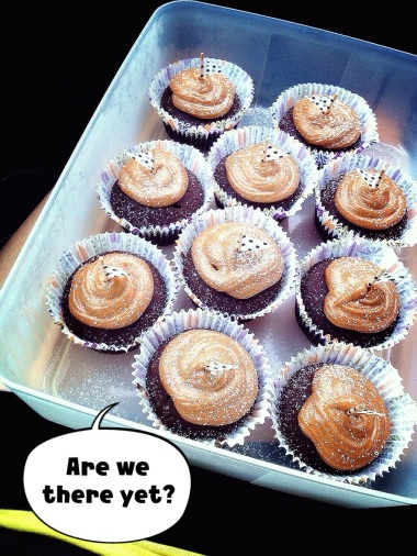Dark Choc Cupcakes