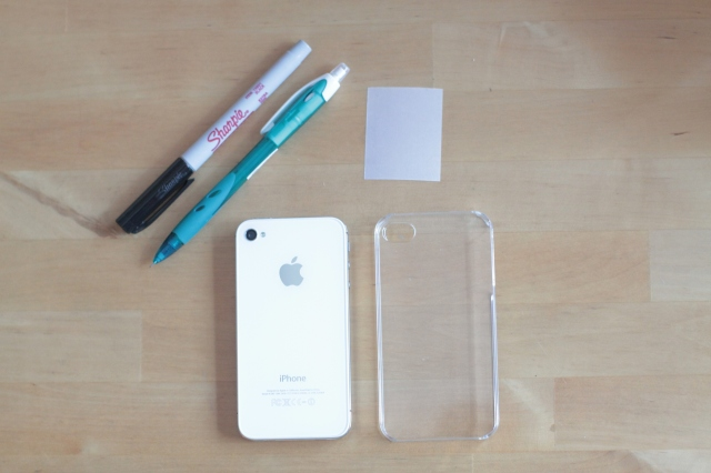 DIY Gentleman iPhone Case